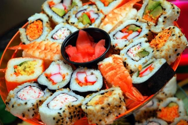 your first date should be as light,fulfilling and colourful as this beautiful display of sushi platter for 2.eat all you want.more info at www.buladeals.co.za