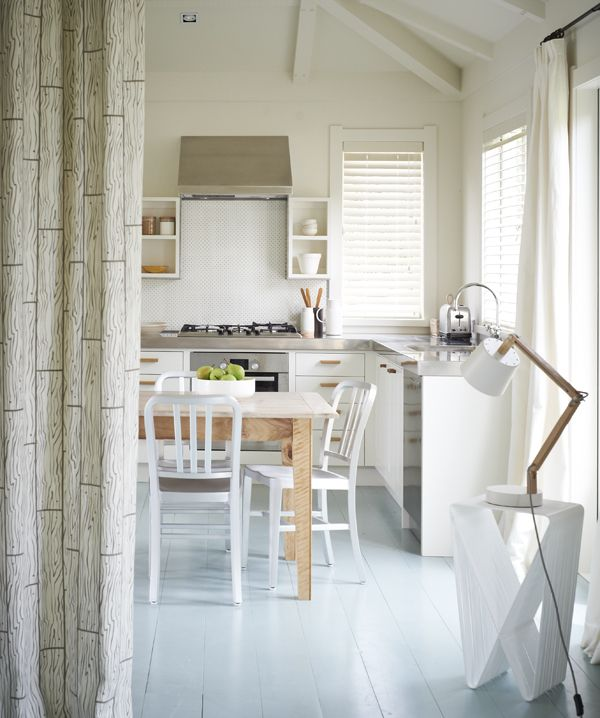 10 Beautiful White Beach House Kitchens: 94 Best NZ Bach Desire Images On Pinterest