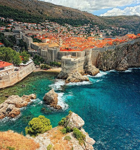 Dubrovnik was one of my favorites for sure! The town is just beautiful and filled with so much history. The streets are made up on limestone but are commonly mistaken for cobblestone and the city walls are worth walking!