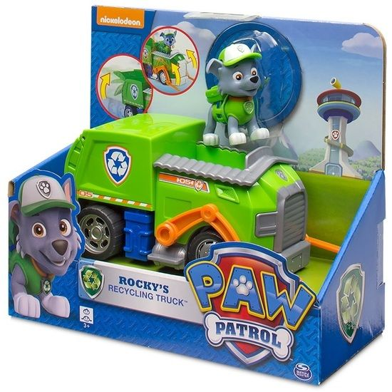 Target Toy Walmart : Paw patrol rocky recycling truck figure from target or