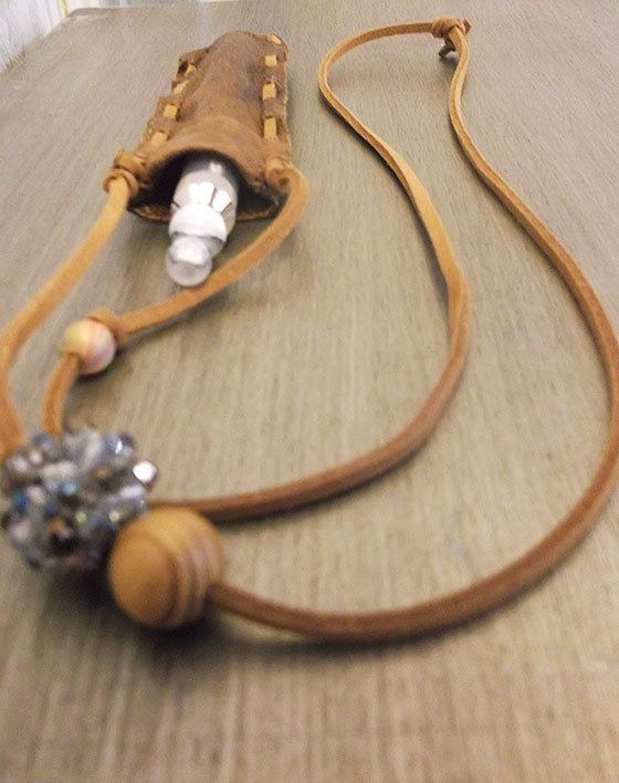 Suede ECig Lanyard / Pouch by HeyMaylea on Etsy, $24.99