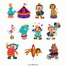 Resultado de imagen para personajes del circo animados