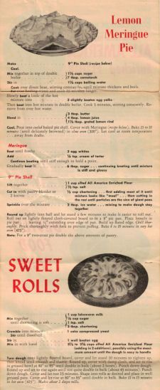 Another Vintage Betty Crocker Recipe Sheet 3