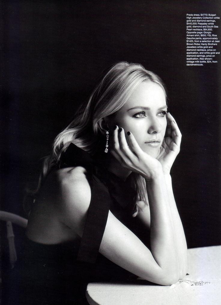 Naomi Watts for Harper's Bazaar