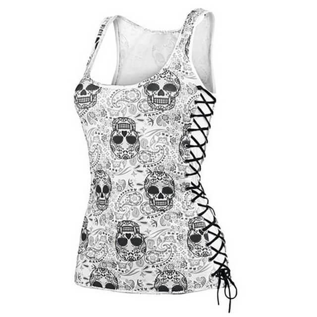 Because Skull Shirts are cool! All Sizes.