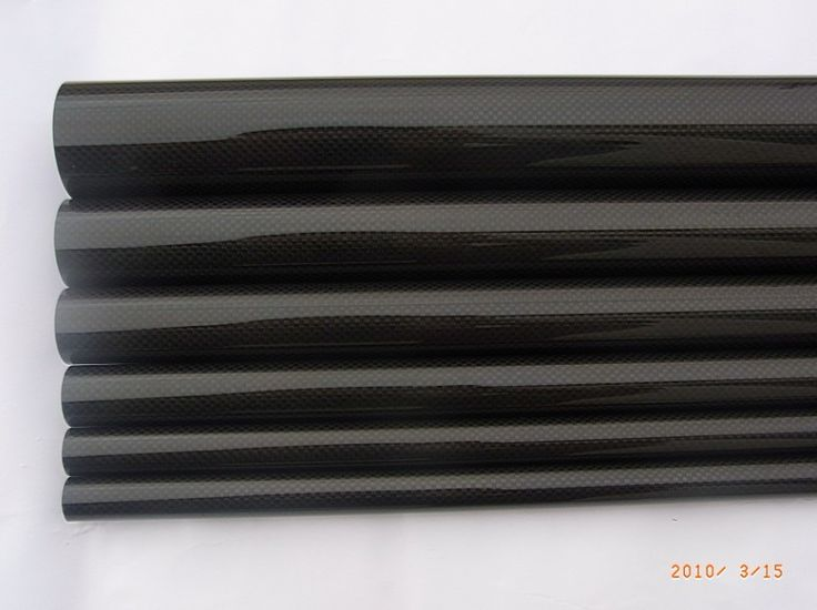 3 K luz sarga de tubo de fibra de carbono 6 * 4 * 1000 mm 6 mm tubo para RC avión acrobático / Kite vara(China (Mainland))