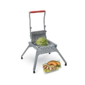 """Vollrath 403N 28 Blade Lettuce King I Lettuce Cutter by Vollrath. $416.99. Slices vegetables and cooked chicken. Cuts 1/4"""" slices. NSF Listed. Food prep can be a breeze with the Vollrath Redco© Lettuce King® I. The Lettuce King® I can save you time and money. Using a knife to cut lettuce can cause bruising meaning your produce goes to waste. With the Lettuce King I® all it takes is one pull of the easy grip handle to shred a ¼ head of lettuce in a matter of s..."""