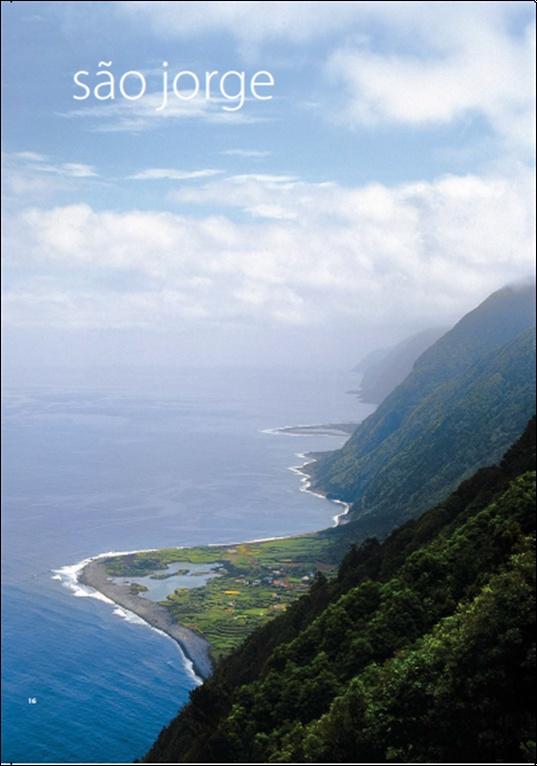 Azores Sao Jorge island
