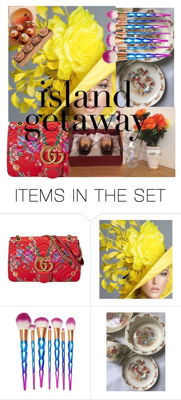 """""""Ready for beach house 🏡"""" by love-retro-crafts ❤ liked on Polyvore featuring art and vintage"""