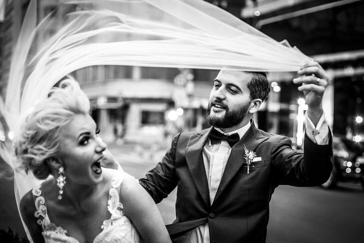Fotografie de nuntă. Raluca și Nicu, nuntă București - Grand Hotel Continental. Fotografii de Mihai Zaharia Photography. Ședința foto