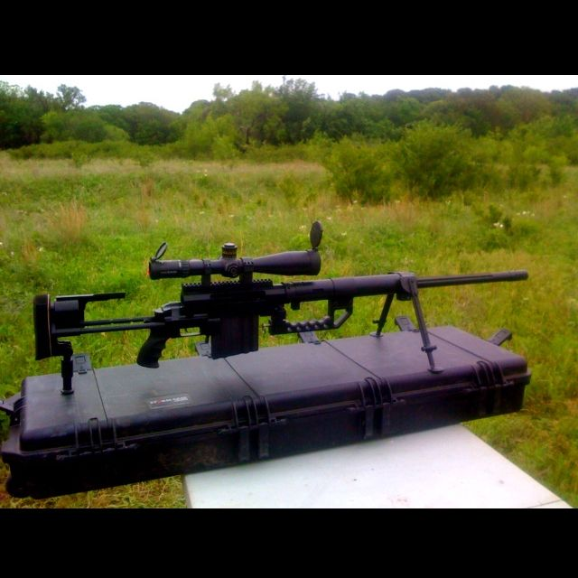 CheyTac .408 sniper rifle