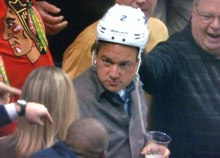 Hammered Drunk Hockey Fan Steals Player's Helmet, LosesBeer