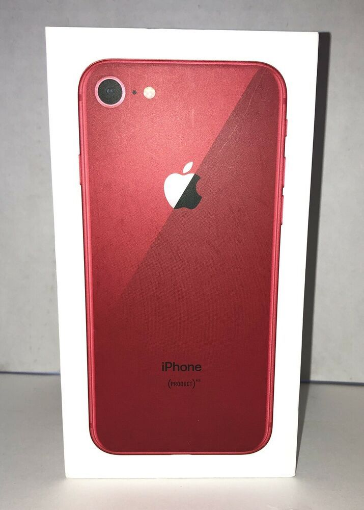 Replacement Box Only Iphone 8 64gb Red W Inserts Apple Stickers No Phone Apple Apple Stickers Iphone Phone