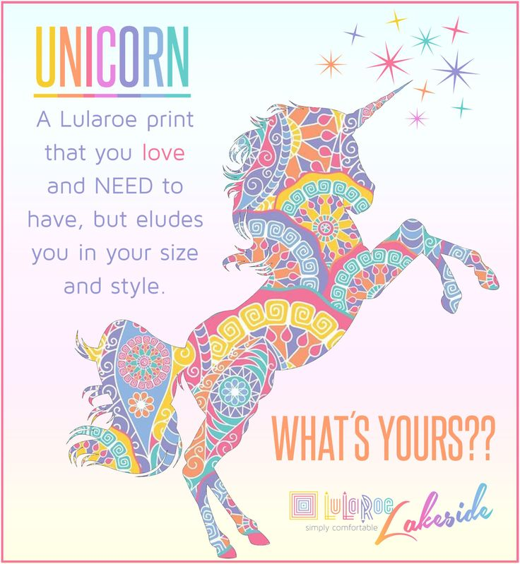 LuLaRoe Unicorn definition / album cover Lots more cute llr graphics at www.facebook.com/butterflydesignsbybrooke
