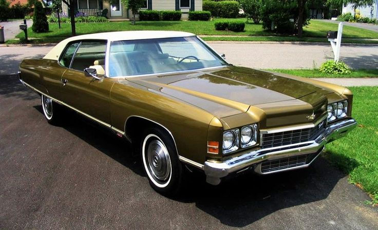 1972 Chevrolet Caprice Coupe - Oh my stars....we had one of these in blue when our son was born. It was brand new!