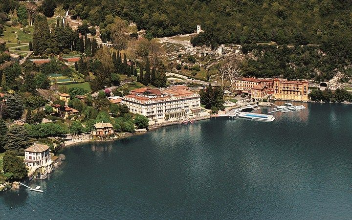 Villa d'Este #チェルノッビオ #イタリア #Luxury #Travel #Hotels #VilladEste