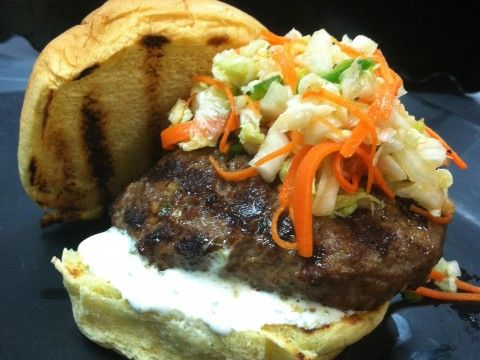 Korean Bulgogi Burger #recipes #burger