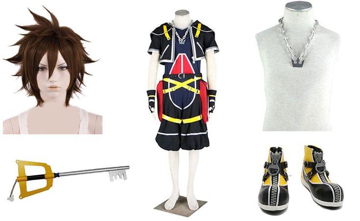 Sora Costume from Kingdom Hearts