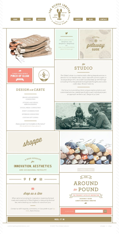 Stitch Design Co. #webdesign #website #inspiration