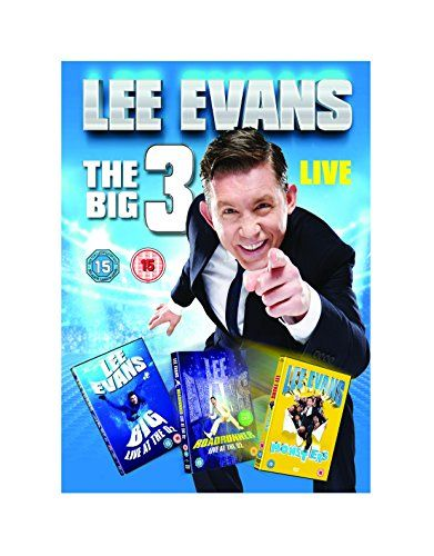 From 7.00 Lee Evans: The Big 3 Live [dvd]