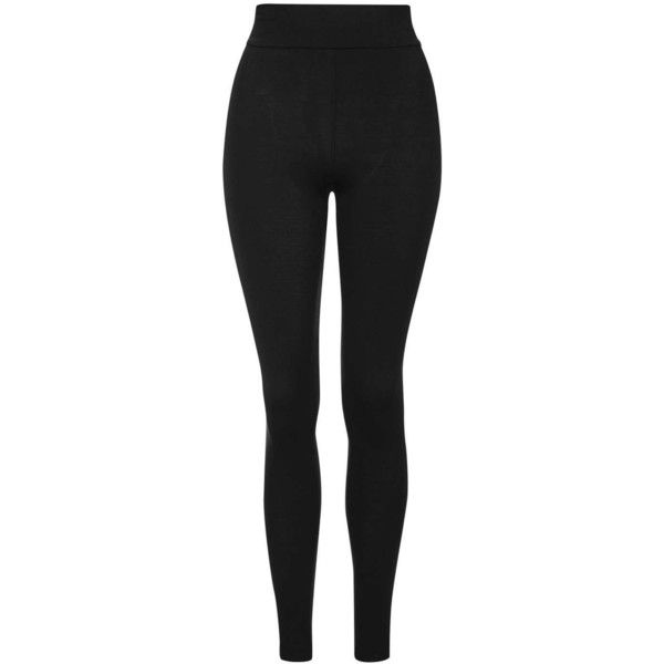 Topshop High Waisted Ankle Leggings (51 BRL) ❤ liked on Polyvore featuring pants, leggings, black, stretch waist pants, topshop leggings, highwaist pants, high waisted legging pants and high waisted leggings