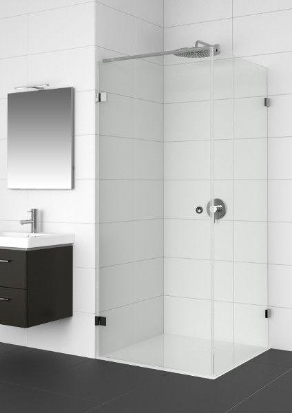 Riho Artic Douchecabine deur rechts 100x80x200 cm zilver helder glas GA0204202