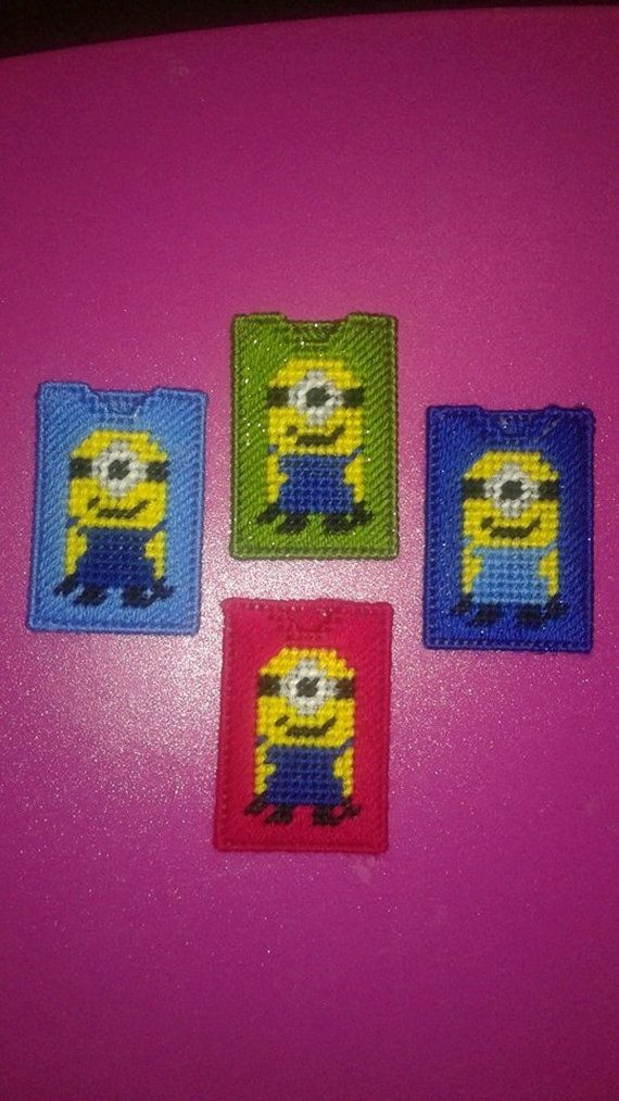 Minion Gift Card Holders by cecrafts on Etsy
