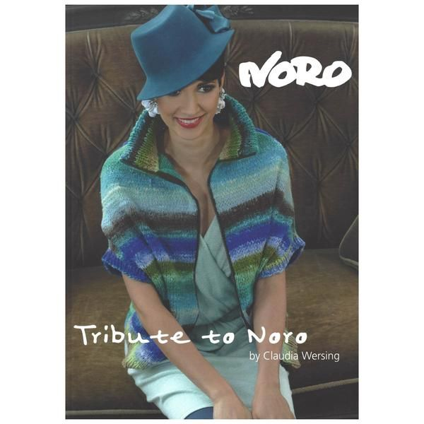 TRIBUTE TO NORO - 12 knitting designs - by Claudia Wersing – TUPPY'S AUSSIE FABRICS