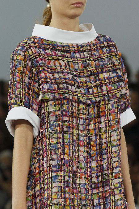 Chanel - gorgeous fabric