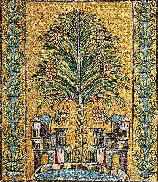 Umayyad Mosque Mosaic In 2019 Architecture Umayyad
