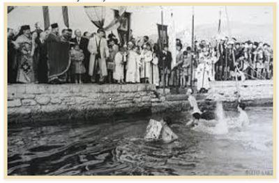 Epiphany celebrations, Ayvali prior to 1922.