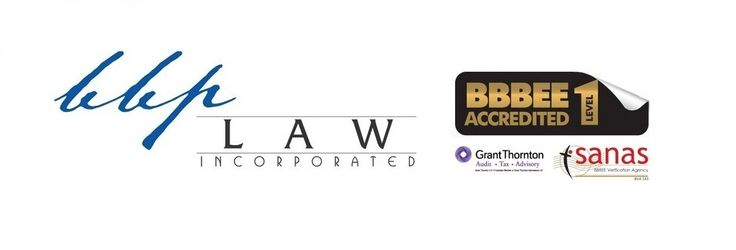 BBP LAW ISSUED IT'S LEVEL 1 BBBEE CERTIFICATE. http://bbplaw.co.za/news.php?p=42