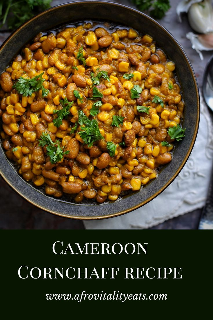 Easy cornchaff recipe from Cameroon