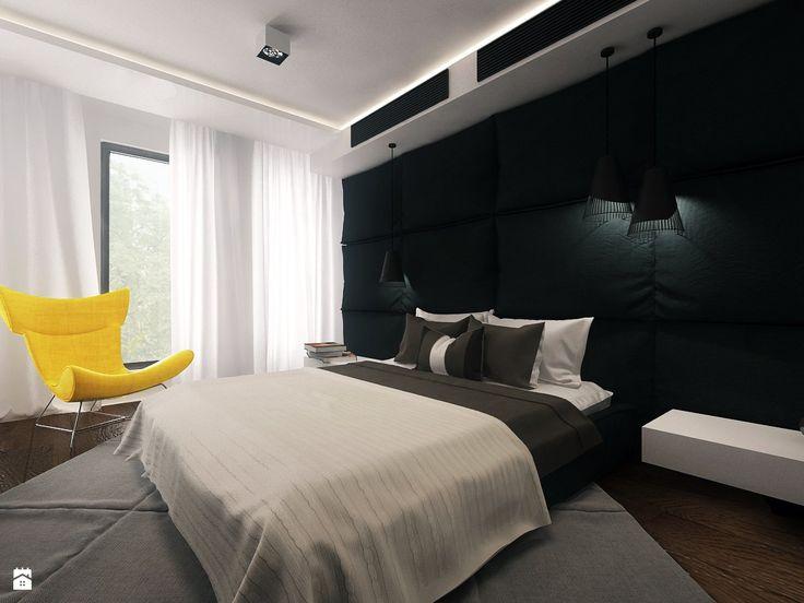 Sypialnia styl Minimalistyczny - zdjęcie od KONZEPT Architekci