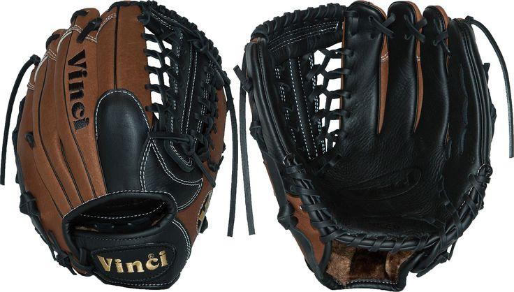 Vinci 11.5'' Youth Fortus Series Glove Black, brown