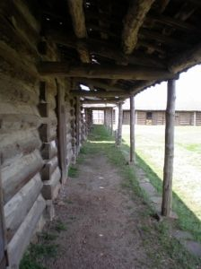 Fort Gibson is the site of Oklahoma's oldest frontier fort, established in 1824.