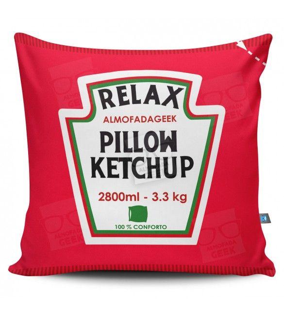 Almofada Ketchup Heinz