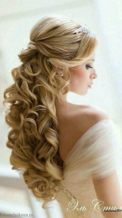 curly+bridal+hairstyles