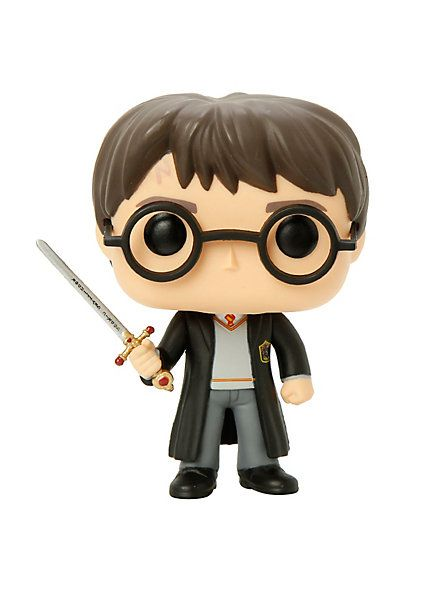 Funko Harry Potter Pop! Harry Potter With Sword Of Gryffindor Vinyl Figure Hot Topic Exclusive | Hot Topic