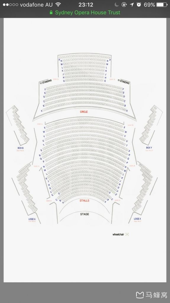 The Most Elegant And Interesting Joan Sutherland Theatre Seating Plan