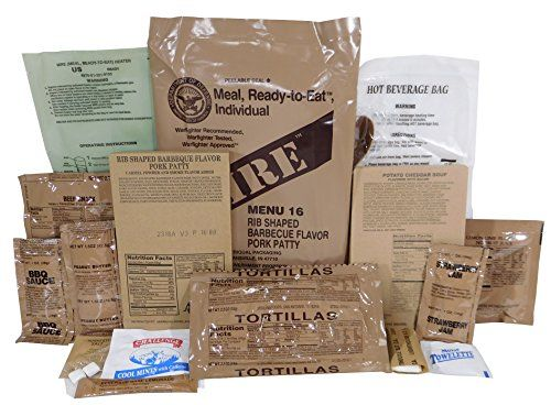buy now   $fifteen.05 Quick & Easy Food Recipes at Hifow.com  Comprehensive Meal Package with Your Decision of Menu Entrees. The Greatest MRE! US Marines standard challenge. Provides an normal 1250 energy (13 % protein, 36 % fat, and fifty one % carbohydrates) for optimum endurance. Made to...