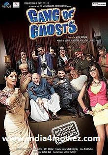 Movie Information: Movie's Director:Satish Kaushik Movie's Producer:ARatan Jain,Ganesh Jain,Satish Kaushik Movie's Cast:Sharman Joshi,Parambrata Chatterjee Movie's Music Composer:Dharam Sandeep Movie's Country:India Movie's Genre:Romance, Drama, Action Movie's Release Date:21,March,2014 Movie's Language:Hindi  Movie's Total Run Time:Not Available   Gang of Ghosts(2014) Watch Full Latest Hindi Movie Action OnlineWith Dailymotion: Coming Soon.....................  Gang of Ghosts(2014)…