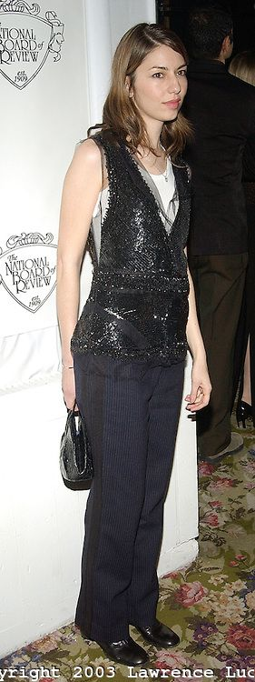 Sofia Coppola in Marc Jacobs | Copyright 2003 Lawrence Lucier.