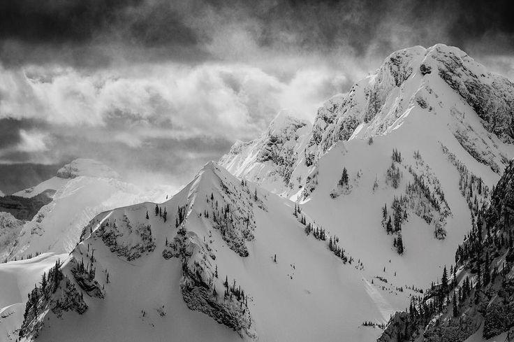 When the clouds break and the light just pops.  #takethepeak #explorebc #ferniephotographer