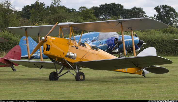Seen at the 2016 gathering of Moths, celebrating the 85th Anniversary of the Tiger Moth - Photo taken at Old Warden - Biggleswade in England, United Kingdom on July 31, 2016.
