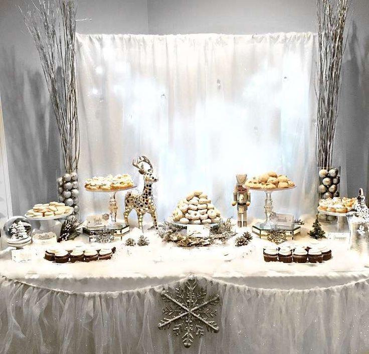 Mary's Winter Wonderland | CatchMyParty.com   – Winter Wedding Ideas