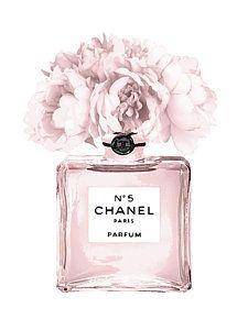 Chanel N.5 Perfume 9 Art Print