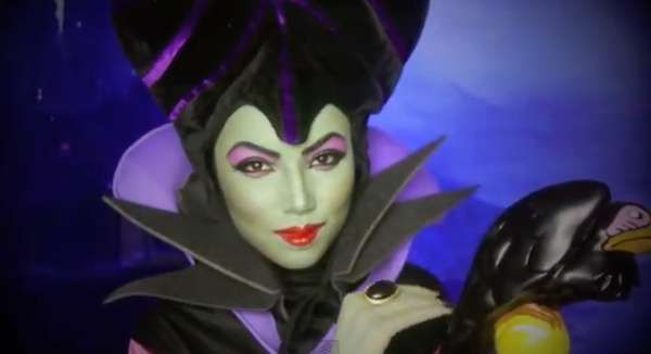The Maleficent Makeup Transformation is a Great Halloween DIY trendhunter.com