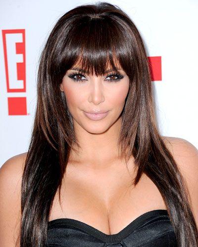 Remember Kim Kardashian's bang moment? Pretty.