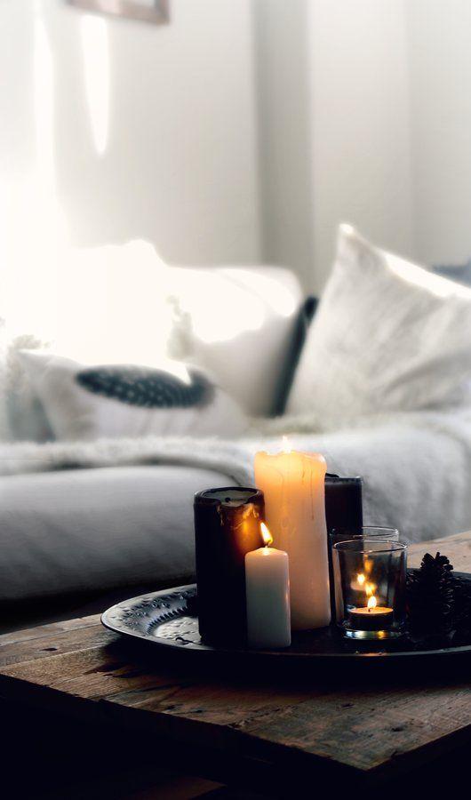 Es ❥lichtelt. Ikea WeihnachtenTage Bis WeihnachtenKerzen  TablettInneneinrichtungIkea MöbelInnendesignSchöner ...
